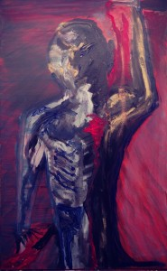 purple-man-hand-raised-painting-matthew-gillett